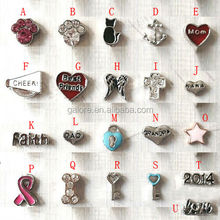 high quality custom made wholesale floating charms for floating lockets
