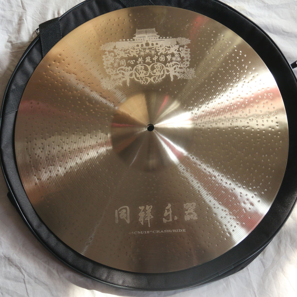 Handmade new designed high quality Carved pattern Customized Cymbal
