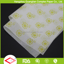 Pre-cut Printed Parchment Patty Paper