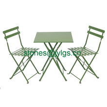 Wholesale Folding Bistro Table and Chair Set Outdoor Patio Garden Pool Backyard <strong>Furniture</strong>