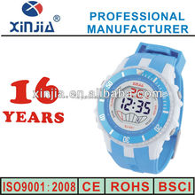 new fashion 30m water resistant plastic wrist watch for lady