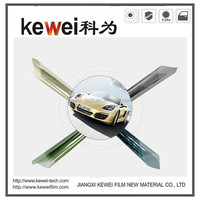 High clear glue clear ,green color Automotive window solar film,,2ply,SRC,0.5*3m UV Protection, for front or side windshield