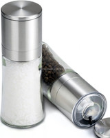 Easy to Hold for Smaller Hands Salt and Pepper Grinder Set cool salt and pepper shakers