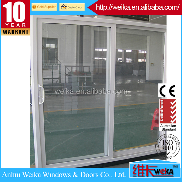 Customized Energy Efficient vinyl sliding glass doors