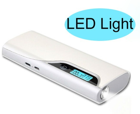 2014 newest with LEd and screen power bank for philips
