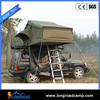 Camping equipment truck roof top tent with fox awning