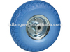 flat free tire 4.00-8 wheel barrow wheel small solid rubber wheel