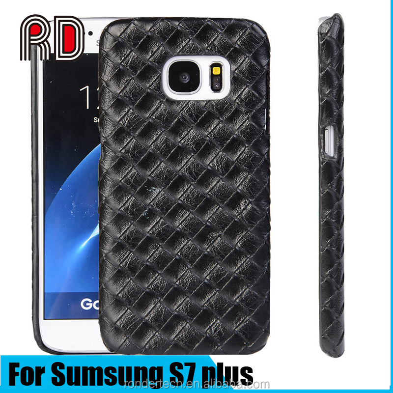 High quanlity Crocodile Pattern PU Leather Back Case for Samsung S7 plus, for samsung galaxy s7 plus case