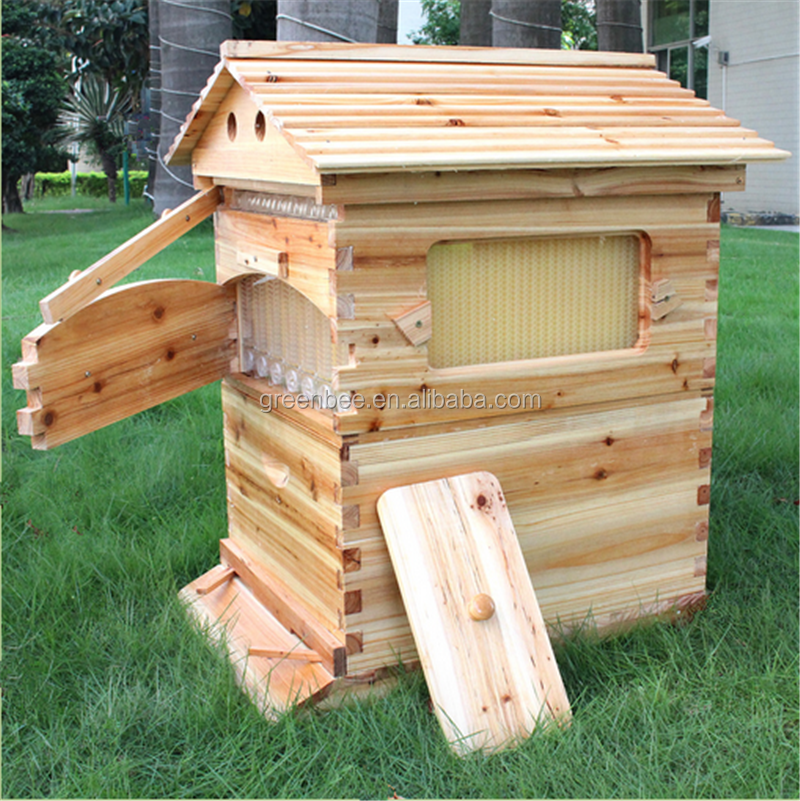 new style honey flow bee hive box with flow frame buy honey flow flow frame bee hive box. Black Bedroom Furniture Sets. Home Design Ideas