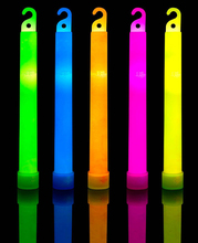 30 Pack Premium Glow Sticks - Bulk Pack Industrial Grade - 6 Inch Waterproof Bright Emergency Light With 12 Hour Duration