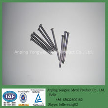 YW--polished galvanized common nails without head