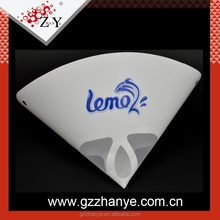 High quality logo printed auto paper paint funnel filter strainer