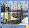 decorative iron fence steel fence