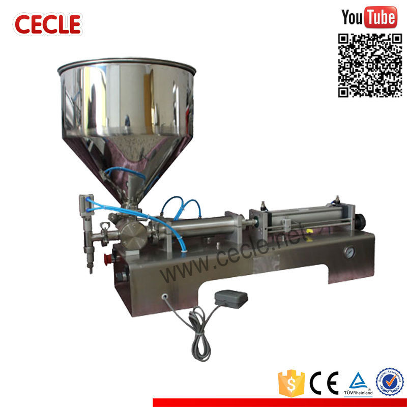 CE approved skin lotion filling machine