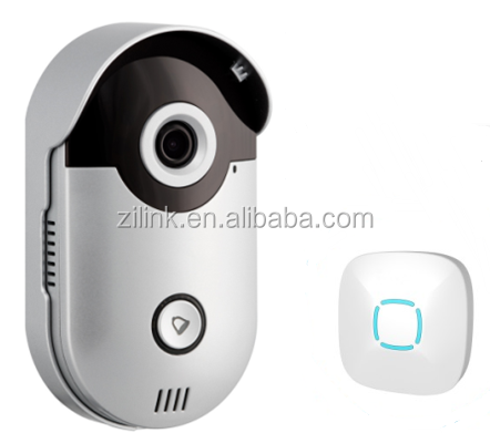Shenzhen Zilink factory direct supply video door bell 720P HD doorbell intercom