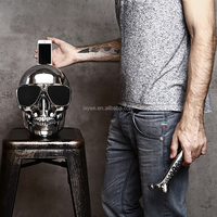 scary skull speaker skull head shape bluetooth speaker wireless speaker
