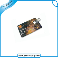 Custom various credit card or business card usb with any logo for your deisgn