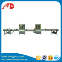 aerosol filling and packing machine