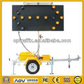 Australian Standard Road Sign Trailers C Size With Hydraulic Lifting