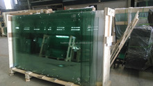 bent and curved clear Tempered Safety Glass for curtain wall