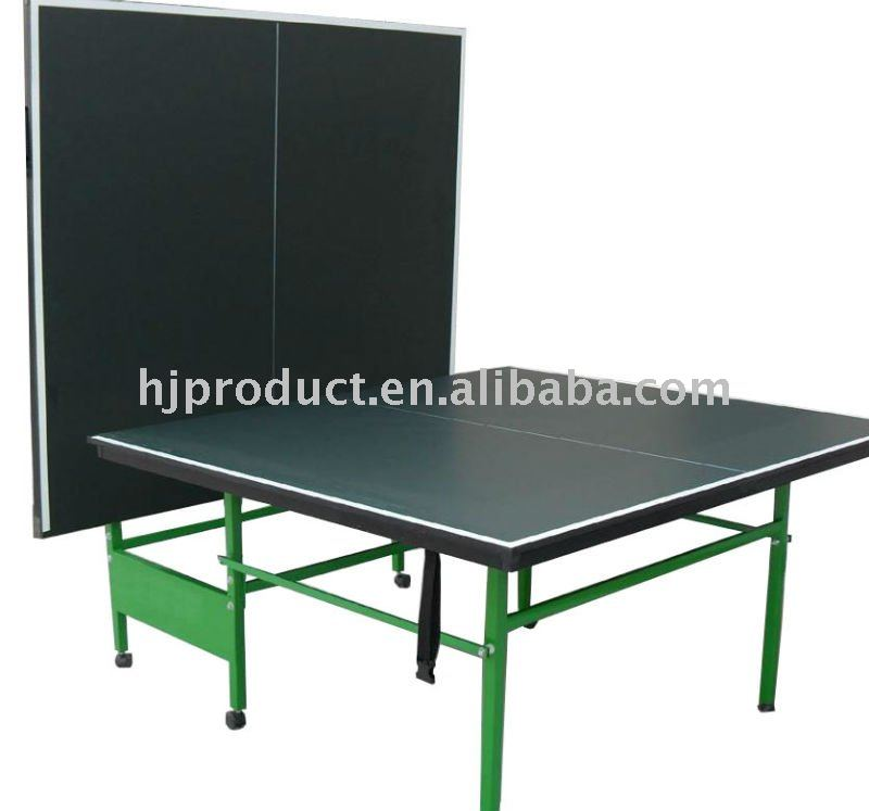 Make Fashion and Beauty Double Foldable and Movable Table Tennis Table