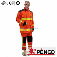 China supplier orange nomex fire proximity suit