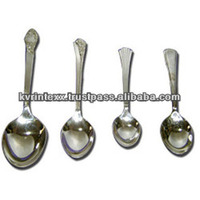 stainless steel cutlery and kitchen tools