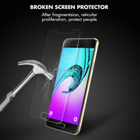Anti Smudge Scratch Resistant Phone Glass Screen Protector For Samsung Galaxy A5 2016