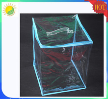 dongguan factory custom deisgn clear material pvc toy packing bag