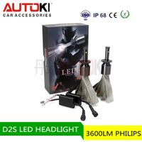 D2S outdoor laser lights led off road led car headlight double bar clamps mining head lamp utv parts car head light