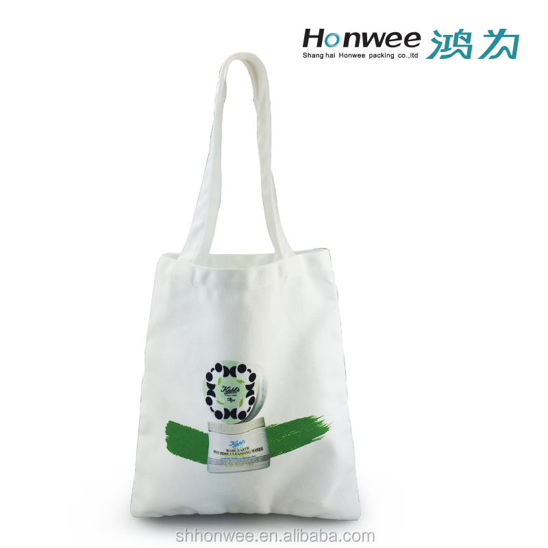 12oz Polyester Canvas Tote Bag Canvas Shoulder Bag For Shopping And Gift