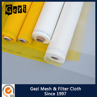 Gezi manufacturer factory price ISO certificated 100% polyester mono 7T( 18mesh)-165T( 420mesh) silk screen