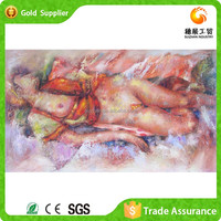 Fast Supply 3D Diy Abstract Nude Female Body Art Painting