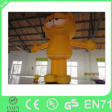 popular inflatable advertising inflatable garfield