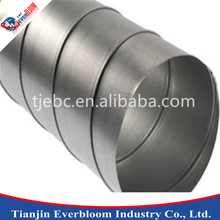 hvac Round Stainless Steel Air Spiral Duct pipe