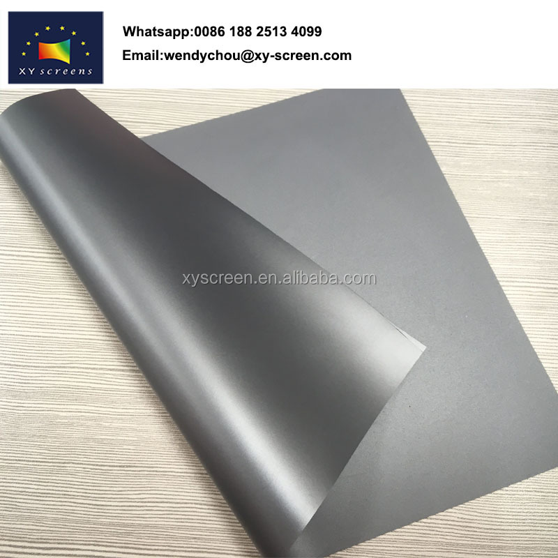 XY SCREEN Anti-light Black Diamond projection screen fabric on sale