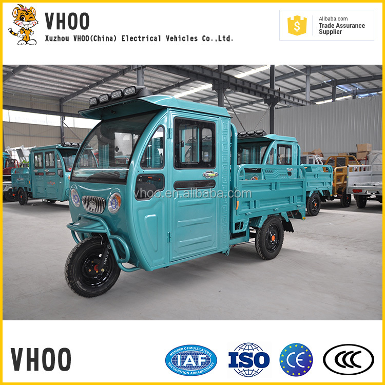 semi-closed motorcycles body india oem load vehicle with three wheels
