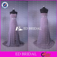 CE596 Gorgeous China Real Sample Grey Chiffon Mother Wedding Dresses For Mother Of The Groom