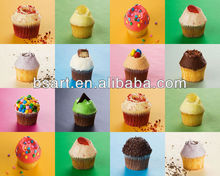 Environmental greaseproof paper cupcake for baking
