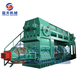 High reputation New Products China Hollow concrete curb stone Block Red Brick Machine automatic vacuum soil brick making machine