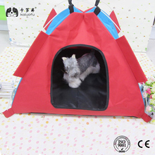 Small pet Pop Up Camping Tent, Nylon Dog Puppy Pet Cat Bed