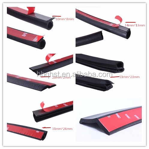 epdm foam rubber protective seal strip with 3m gluing. Black Bedroom Furniture Sets. Home Design Ideas
