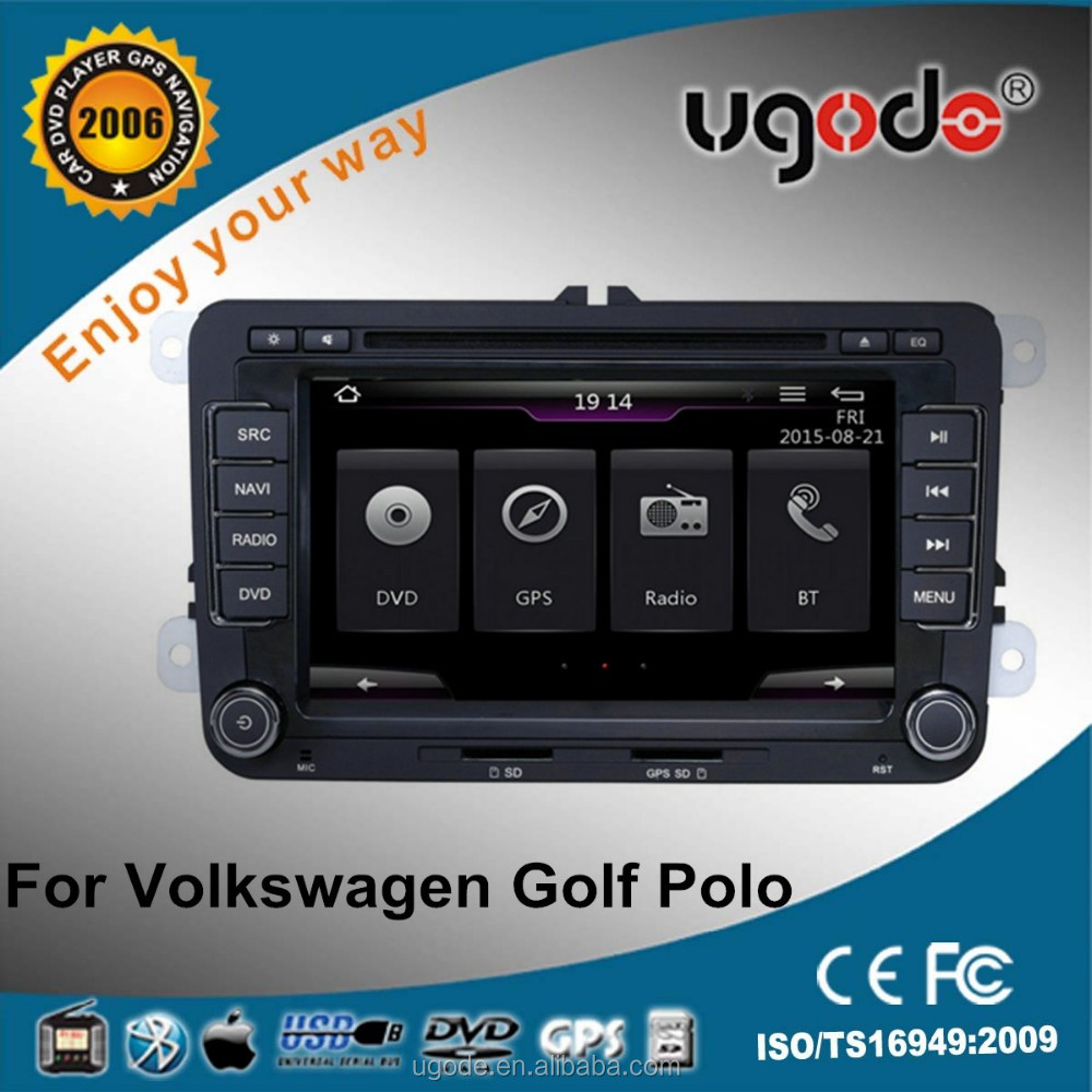 ugode U7 Stable Wince system Car Stereo for Volkswagen Golf 5 Car DVD Player GPS