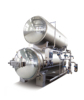 Full automatic double layers autoclave steam retort autoclave steam retort