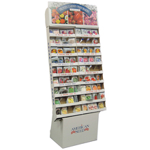 Hot sale cardboard balloon display stand/led display stand/juice bottles display stand