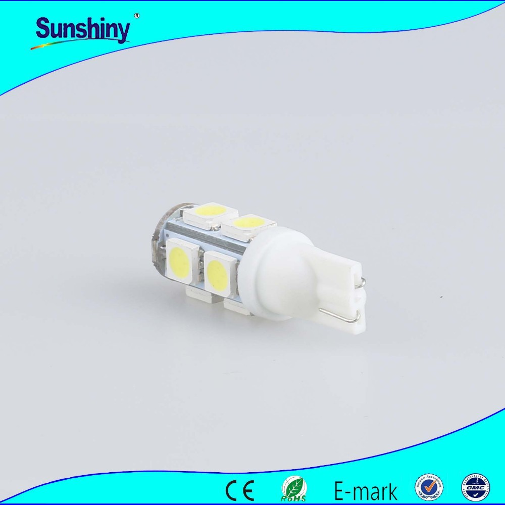 auto lighting super white car led light bulb 12v t10 /w5w/194 5050 smd led