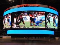 P6.66 Indoor /Soft Module Video Program/flexible LED Display screen video wall panel