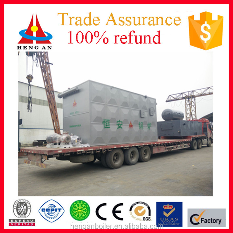 Horizontal Automatic 3000000kcal/h coal or wood fired thermal oil boiler for petroleum industry heating with factofy price