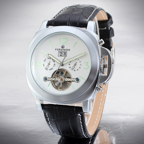 luxury branded automatic tourbillon movement mechanical wristwatch for men watch