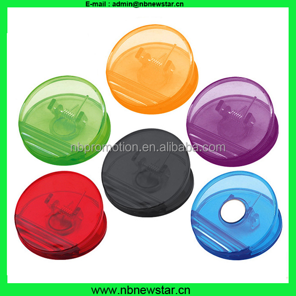 NCP014 Transparent colorfull clear plastic paper clip